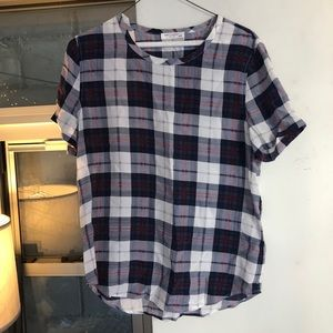 Equipment short sleeve blouse